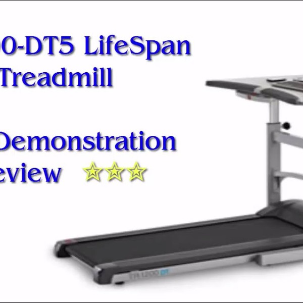 TR1200-DT5 LifeSpan Treadmill Live Demonstration Review  ✮✮✮