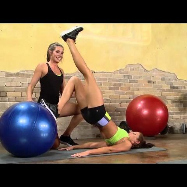 GoFit Intro to Stability Ball Workout DVD with Brook Benten